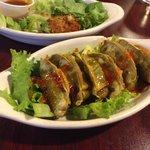 Dumpling appetizer