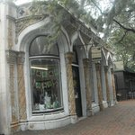Old Storefront along Trolley Tour