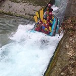 rafting στο Βοϊδομάτη ποταμό