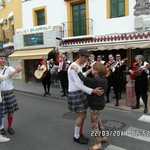 Band and Dancers in San Miguel