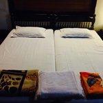 simple, clean, comfortable bedroom