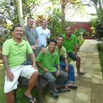 La belle équipe de la villa