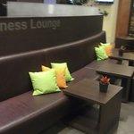 Lobby/business center area