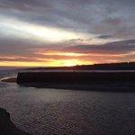 St Andrews Harbour: sunrise January 2014