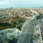 Excellent view of Barcelona