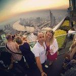Vue panoramique du Sirocco sur Chao Praya river