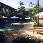 Quieter pool :)