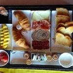 Espectacular el detalle del desayuno!
