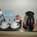 ミネラルウォーターとお茶セット