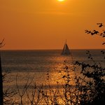 Sunset at Playa Prieta
