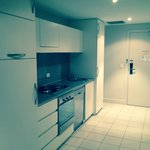 Great kitchen with fridge, freezer, cooker, kettle, toaster, etc! Plus a washing machine in the