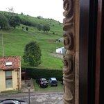 Vista desde las ventanas de piedra