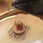 surprise birthday dessert