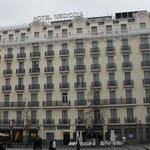 Vista general del Hotel Mediodia.
