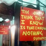 Outside Sokrates, Sale.