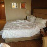 Executive room - bed at morning