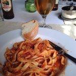 Wonderful pasta and fantastic service!