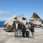 Our Tour Group at the Remarkable Rocks