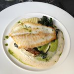Beautifully cooked fish with flavour