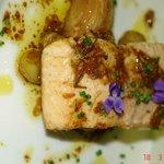 saumon sauvage, poelee de ratte
