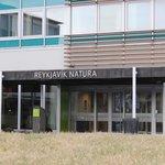 Front entrance Reykjavik Natura