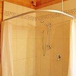 Top of shower