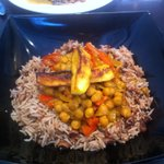 Chick pea curry at Caribbean Fridays