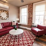 Beautifully decorated Suites.  Deluxe Accommodations in the Heart of Downtown Asheville!