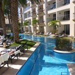 View of the swim out rooms