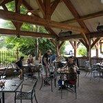 Tavern terrace