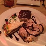 Dessert! Tiramisu, carrot cake and creme puffs...just awesome