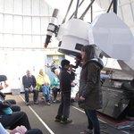Using the telescope atop Mt Lemmon