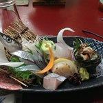 Sashimi at Dinner