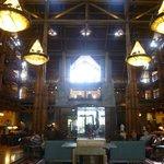 Inside Wildeness Lodge