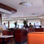 In the restaurant!!!