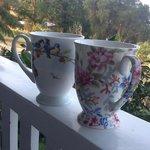 Tea on the verandah