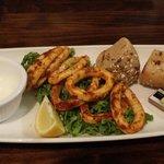 Cajun calamari, delicious not cheewy