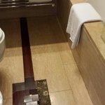 Broken tile in my bathroom!