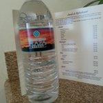 $6 bottled water !