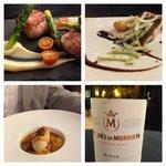 Beautiful food and wine at Fonda Espana