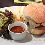 Zio's 'Our Own' Beef Burger