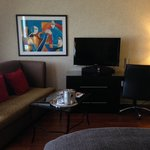 Our room - sofa, TV