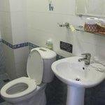 toilet is clean