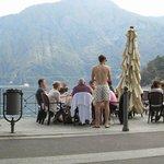 Bar Sport along the promenade in Lenno
