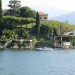 Villa Balbianello from the boat on Lake Como