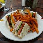 Smithfield Club with Sweet Potato Fries
