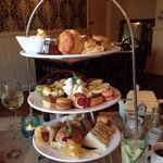 Incredible afternoon tea at The Peacock