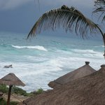 View from Palapa Dos - No sun that day!