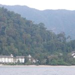 The Andaman Hotel from our catamaran I