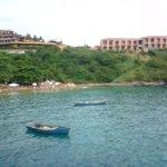 Vista do hotel pela praia de J.Fernandinho